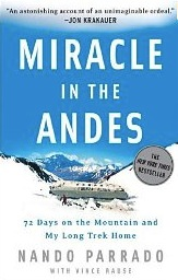 Photo of the book Miracle in the Andes