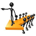 scott maxwell 3D Team Leadership Arrow Concept